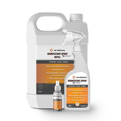 Medical Grade Disinfectant Surface Sanitising Spray