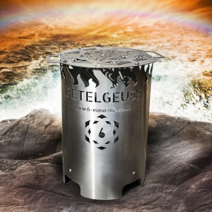 Betelgeuse Brazier - Hybrid Firepit Wood Grill