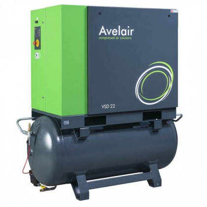 Variable Speed Drive (VSD) rotary screw air compressor