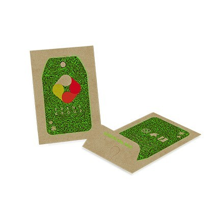 Medium seed packet envelope - Kraft