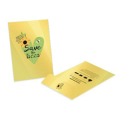 Large seed packet envelope - Gloss