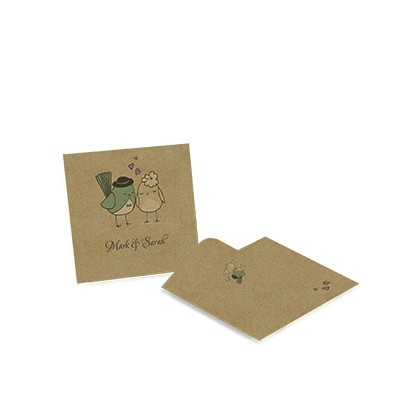 Small seed packet envelope - Kraft