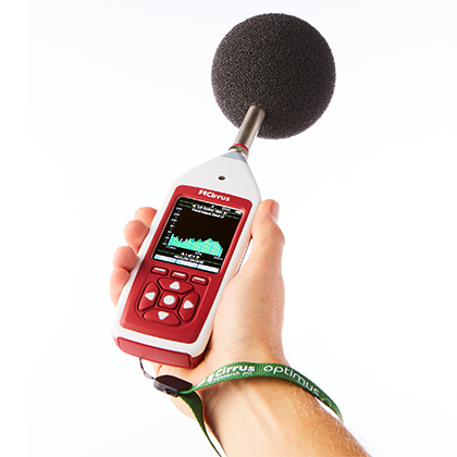 Optimus+ Green Environmental Sound Level Meter