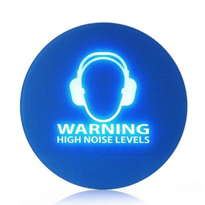 The SoundSign Noise Activated Warning Sign