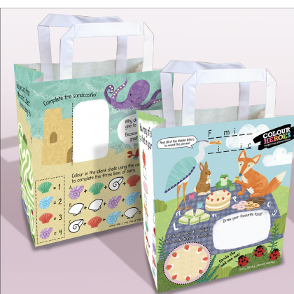 Colour Heroes Children's Activity Packs