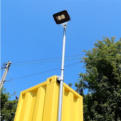 Shipping Container Double Flood Light kit