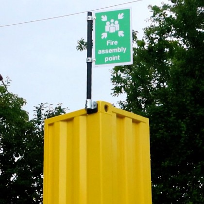 Shipping Container Signpost kit