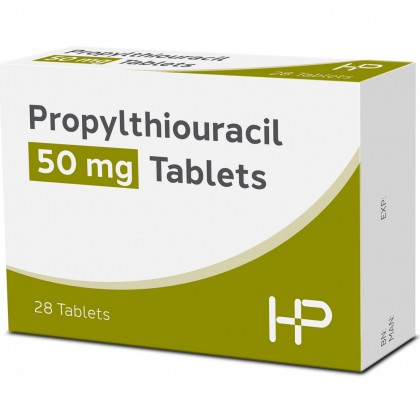 Halewood Propylthiouracil Tablets BP 50mg
