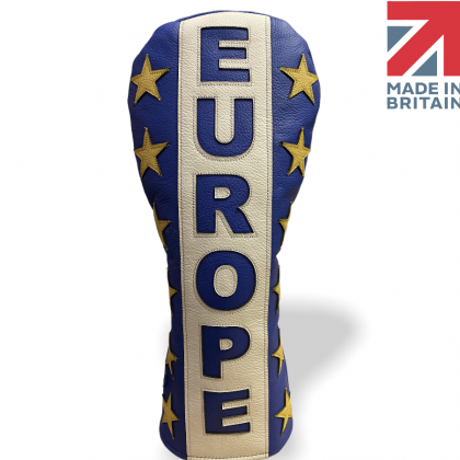 Europe Leather Golf Headcover
