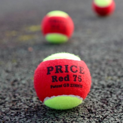 The Original Mini Red Tennis Ball - Red 75 from £1.45 per ball