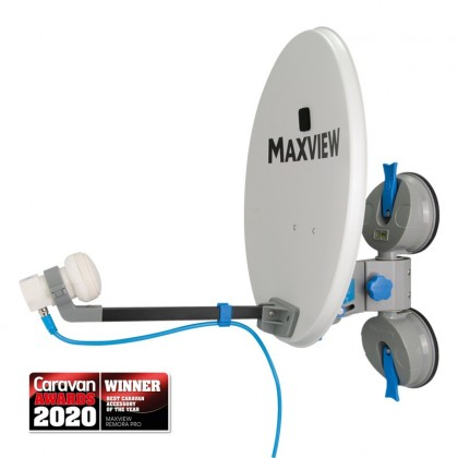 Maxview - Remora Pro - Portable Suction Mount Satellite System