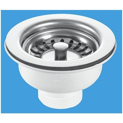 BWSTSS   -   Basket Strainer Waste with Stemball plug