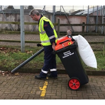 120-75-E Battery Powered Vacuum Litter Collector