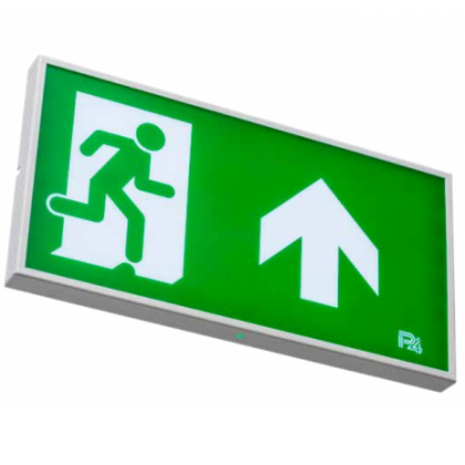 Omega Emergency Exit Sign