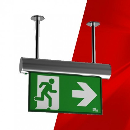 Omikron Emergency Exit Sign