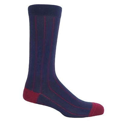 Pin Stripe Men's Socks