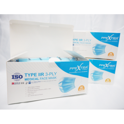 Type IIR 3-Ply Medical Mask