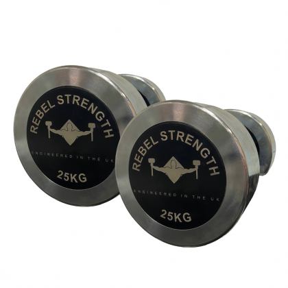 Rebel Strength Studio Steel Dumbbells