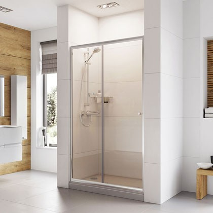 Haven Sliding Door Shower Enclosure