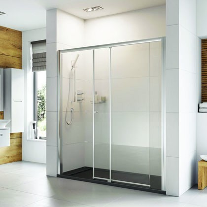 Haven Level Access Sliding Door Shower Enclosure
