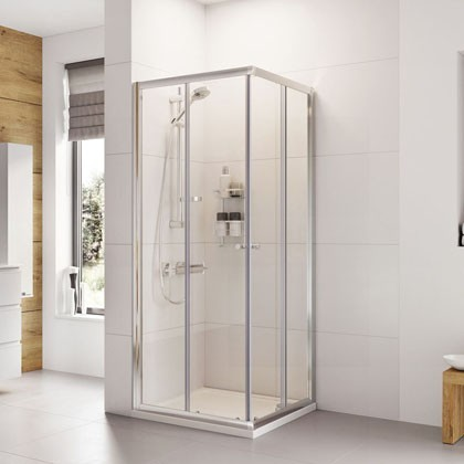 Haven Corner Entry Shower Enclosure