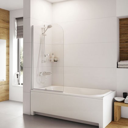 Haven Curved Bath Screen