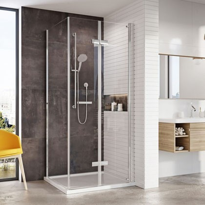 Innov8 Inward Opening Bi-Fold Door Shower Enclosure