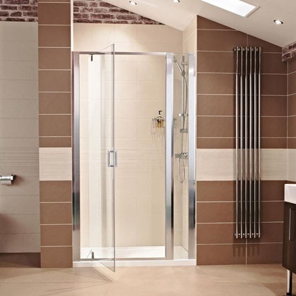 Lumin8 Pivot Door Shower Enclosure