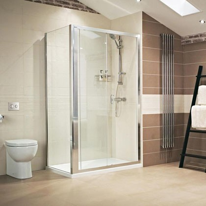 Lumin8 Sliding Door Shower Enclosure