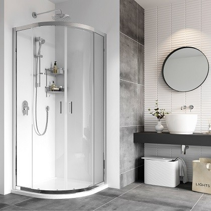 Haven8 Two Door Quadrant Shower Enclosure