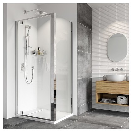 Haven8 Pivot Door Shower Enclosure