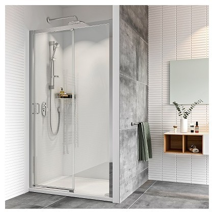 Haven8 Level Access Sliding Door Shower Enclosure