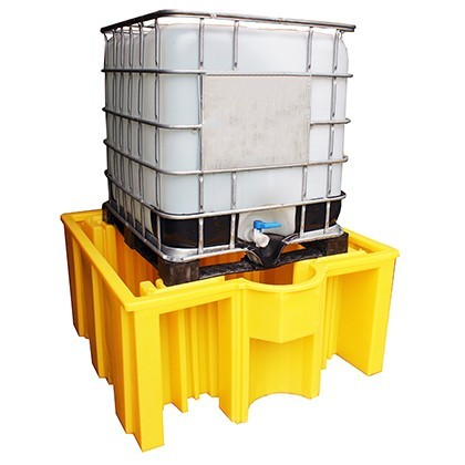IBC Spill Pallet (For 1 x 1000ltr IBC (no deck)) - BB3