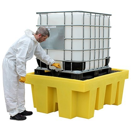 IBC Spill Pallet (With Removable Deck) - BB1
