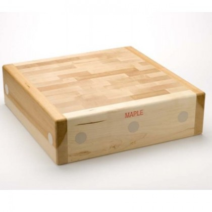 "175mm (7"") thick Traditional Maple Butchery Block"