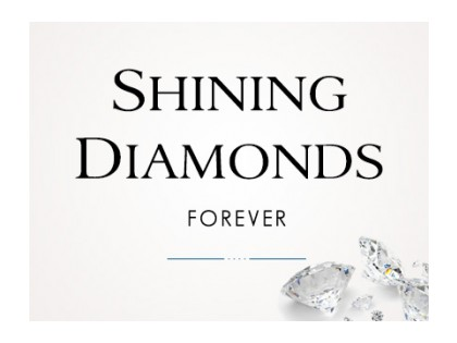 Shining Diamonds