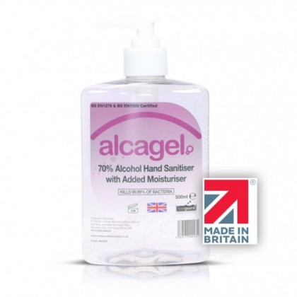 Vanguard Alcagel® 70% Alcohol Hand Sanitiser (500ml)