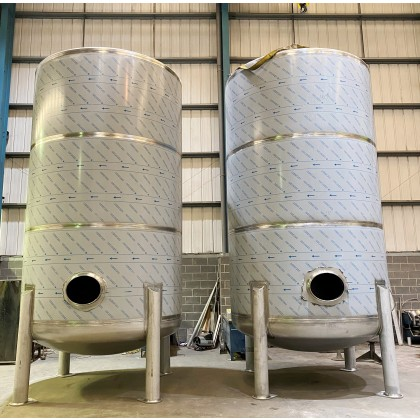 30000 litre / 6600 gallon Vertical Stainless Steel 316 Free Standing Tank / Vessel