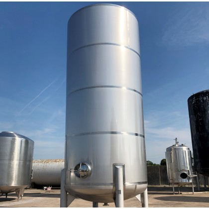 40000 litre 8800 gallon Vertical Stainless Steel 316 Free Standing Tank / Vessel
