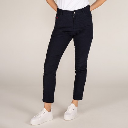 Chloe - Women's High Waisted Moleskin Jeans