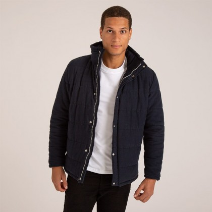 Harry - Men's Luxury Quilted Coat