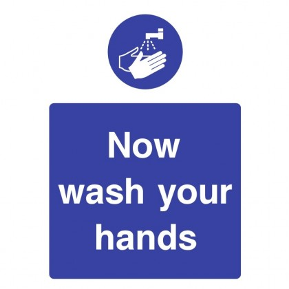 Wash Your Hands Catering Sign