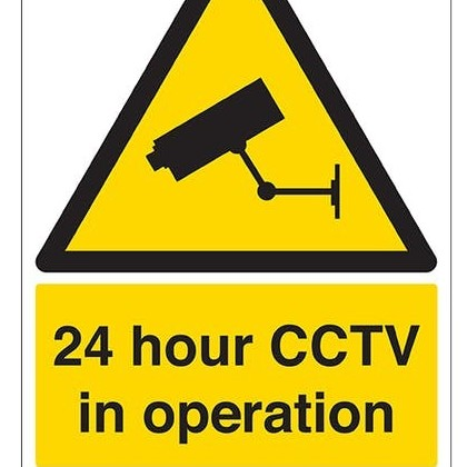 24 Hour CCTV In Operation Portrait
