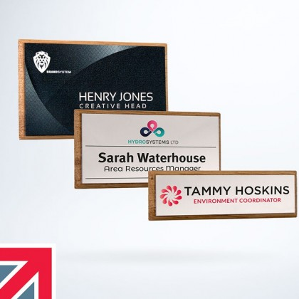 Personalised & Reusable Name Badges