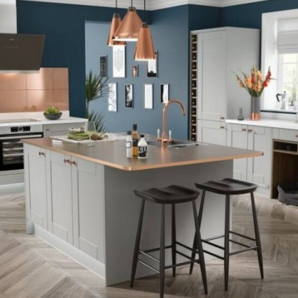 Shaker Kitchen in Fossil Grey